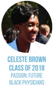 Celeste Brown, Class of 2018.
