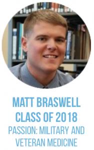 Matt Braswell, Class of 2018.
