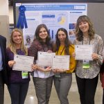 Doctor of Audiology students won the best poster award at the 2020 EHDI annual meeting, held in early March.