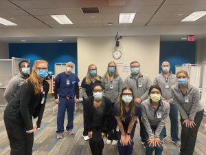 Physician Assistant Studies students who participated in the Carolina COVID-19 Student Service Corps