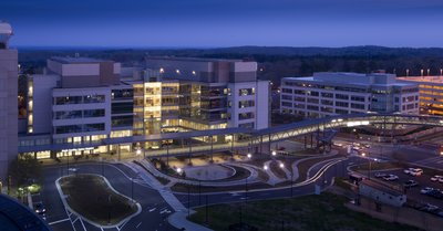 NC Hospital at Night