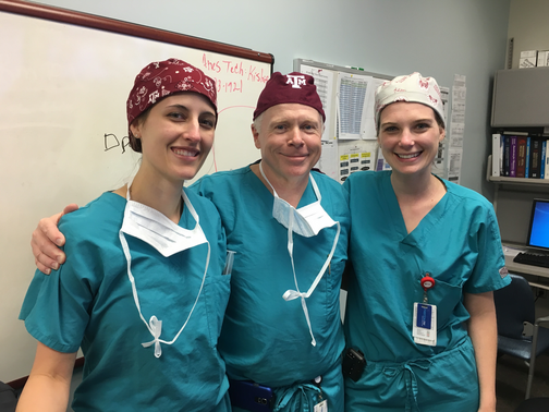 OB Fellows and Dr. Mayer