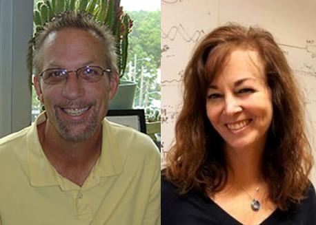 photo of John Hutton and Tina Leisner PhD