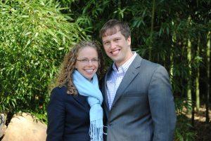 Aaron Hobbs and Heather Gough