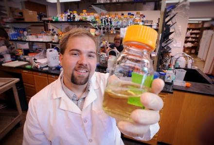 Biochemistry & Biophysics alumnus, Andy Hemmert