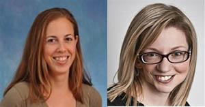 Karen Plevock (left) & Cassandra Hayne (right)