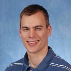 Justin Black, graduate student