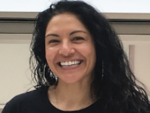 Juanita Limas, graduate student in Jean Cook lab