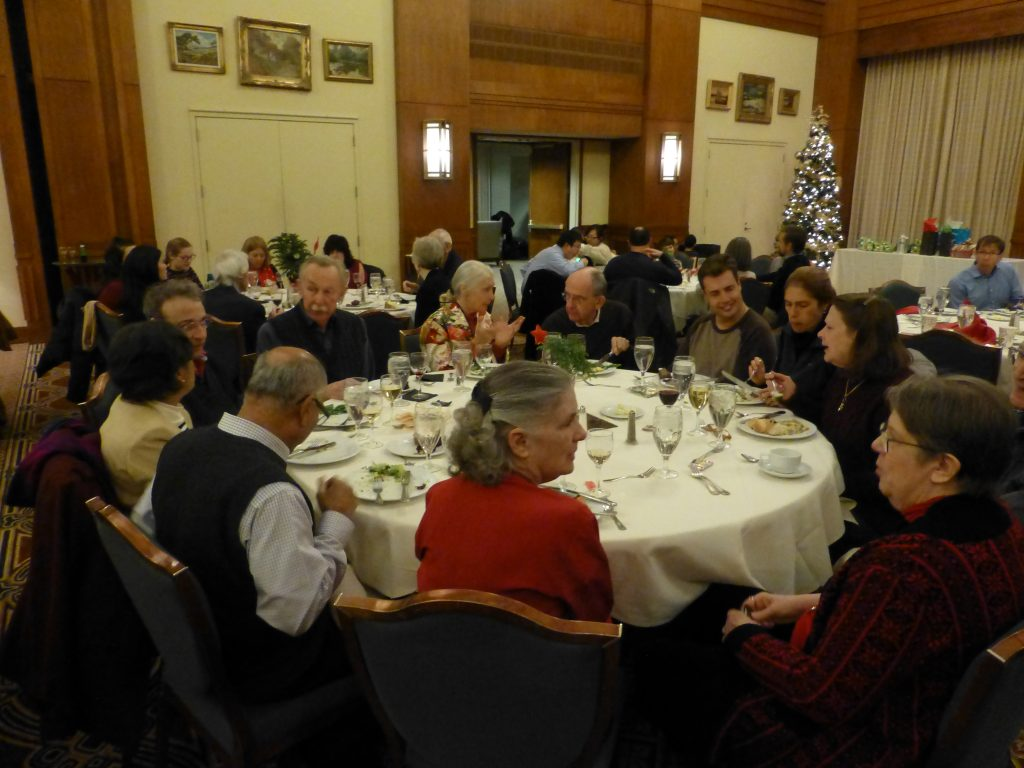 photo from department dining holiday party