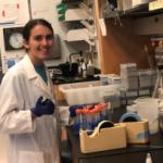 Sierra Archibald, undergraduate researcher