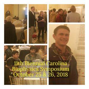 Photo collage of 2018 CBS biophysics symposium