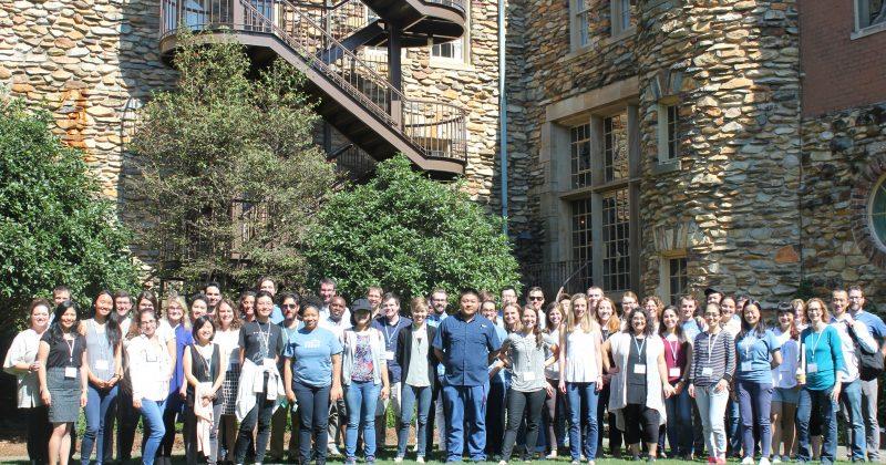 photo of group 2018 UNC School of Medicine Biochemistry and Biophysics Research Retreat
