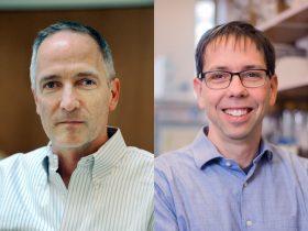 photo of Joe Eron MD and Brian Kuhlman PhD