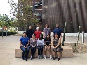 photo of group Johnson lab at University of Arizona Michael D.L. Johnson alumni