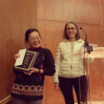 photo of photo of Ming Jing Wu PhD receives research staff excellent award