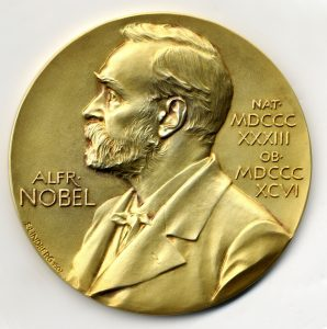 Sancar Nobel medal