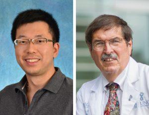 photos of Pengda Liu PhD and Shelton Earp MD