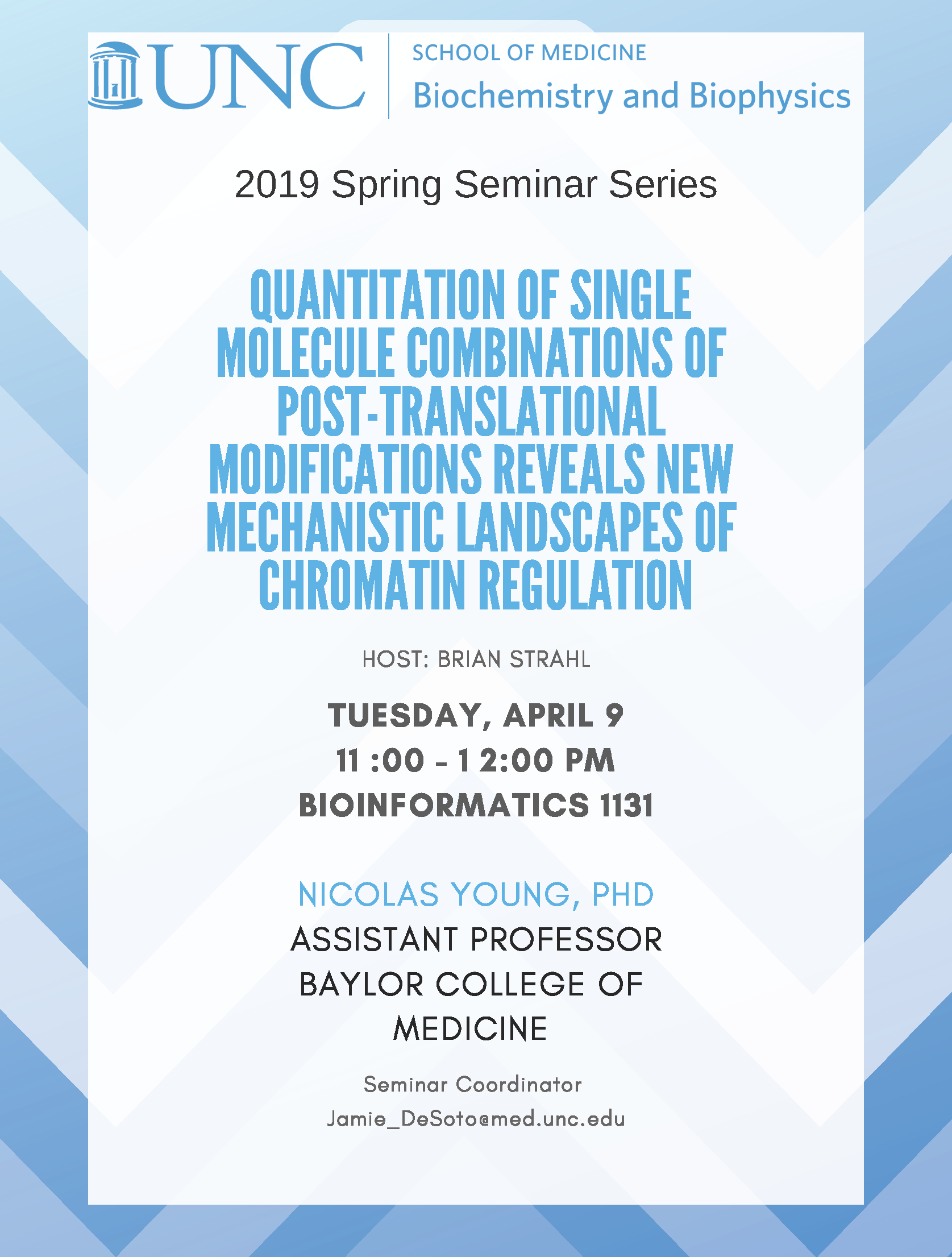 Nick Young BCBP seminar event flier Apr 9 2019
