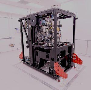 photo of inside of a cryo-TEM