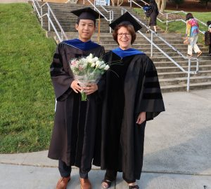 Drs. Alex Chung (Pharmacology) and Leslie Parise