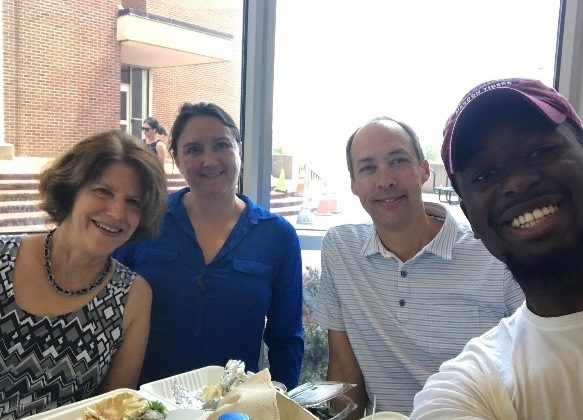 Group of friends meeting for BCBP Synergy lunch August 2019