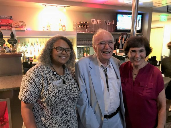 BCBP Meet up welcome in Fall 2019 at TOPO back room with new dean