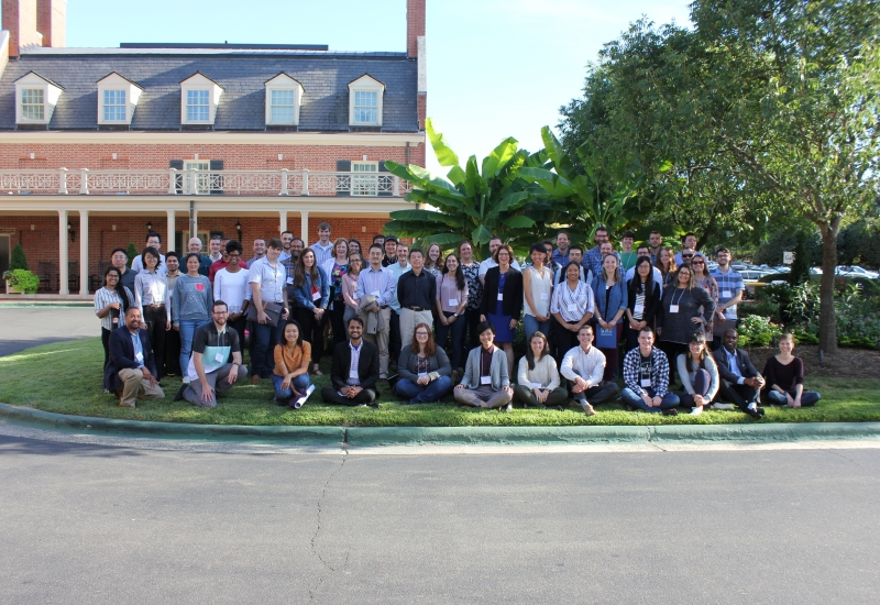research retreat group photo
