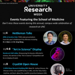 Research Week poster