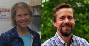 Sharon Campbell and Wolfgang Bergmeier