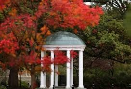 old well fall colors at UNC