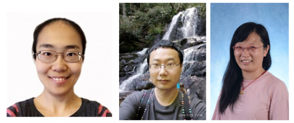 postdoc Dr. Yanqiong Zhang in Liu lab, Dr. Zhe Ma in Damania lab and a BBSP student Ying Wang