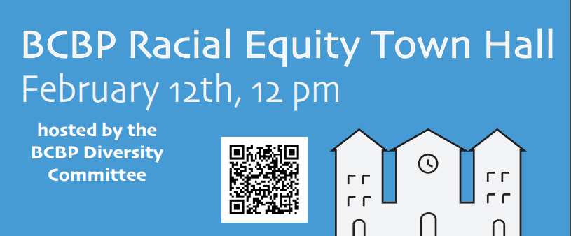 BCBP Racial Equity Town Hall in 2021