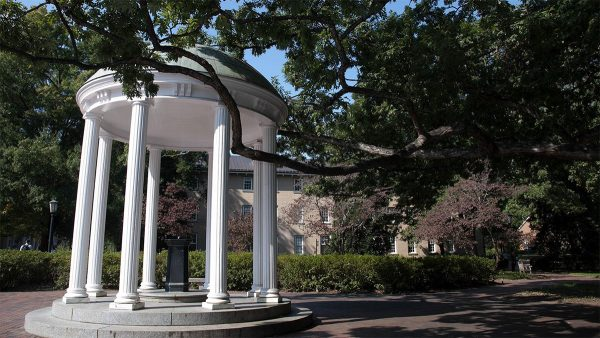 The old well in summer