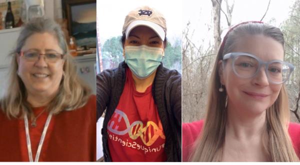 Marsha Lynn Ray, Juanita Limas, and Carolyn Clabo