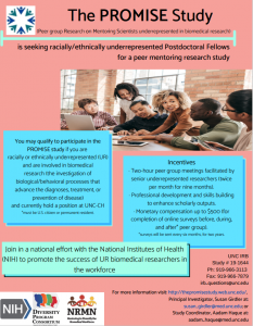 promise study flier all information on this page