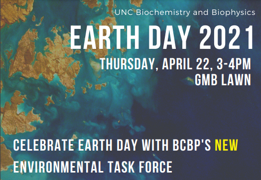 earth day on GMB lawn