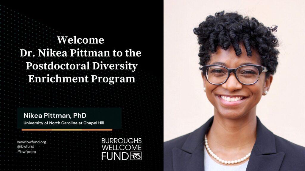 Nikea Pittman PhD BWF 9.8.2021