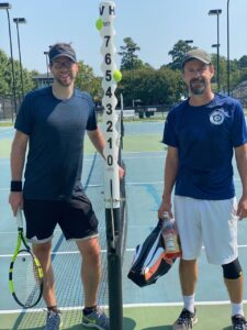 Bergmeier and McGinty played tennis 2021