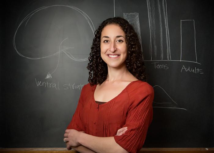Eva Tezler, professor of psychology
