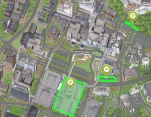 Campus Map Image and link