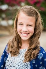 Mercy Anne in 6th grade