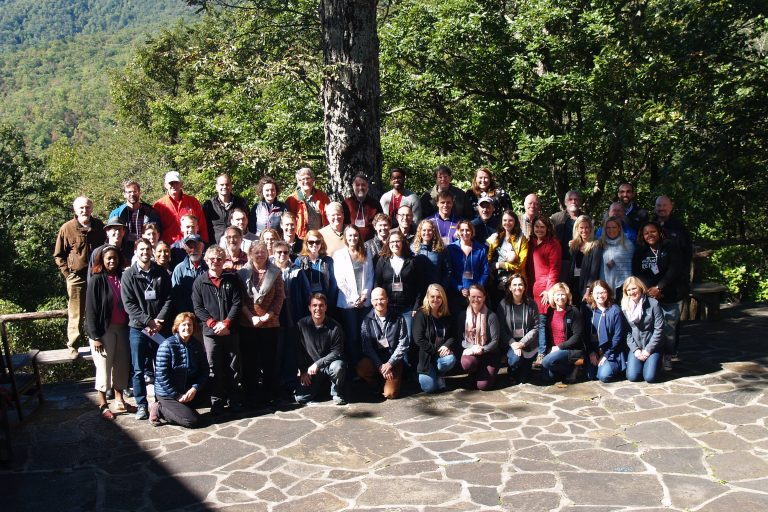 Faculty retreat group photo