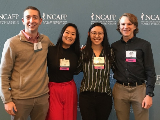 Students at NCAFP conference