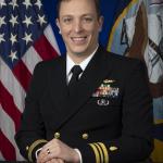 LCDR Dr. Matthew Hall in Naval Uniform