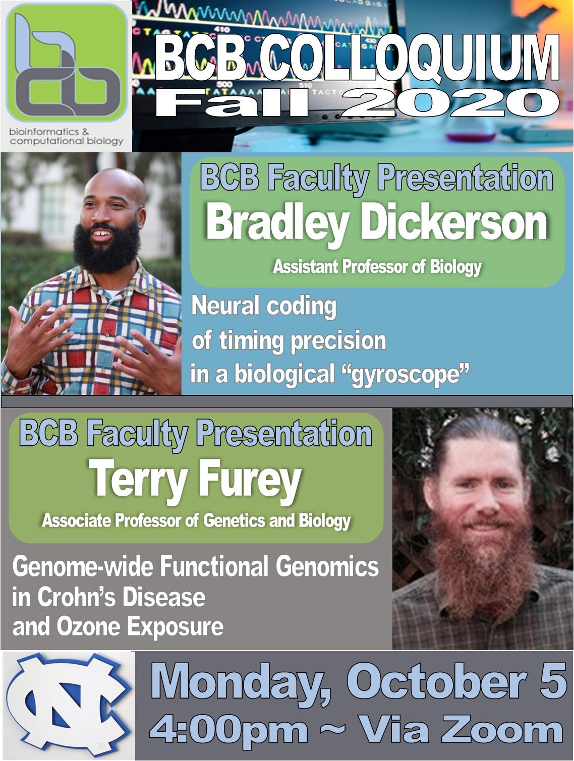 BCB Colloquium_20 1005_Dickerson_Furey
