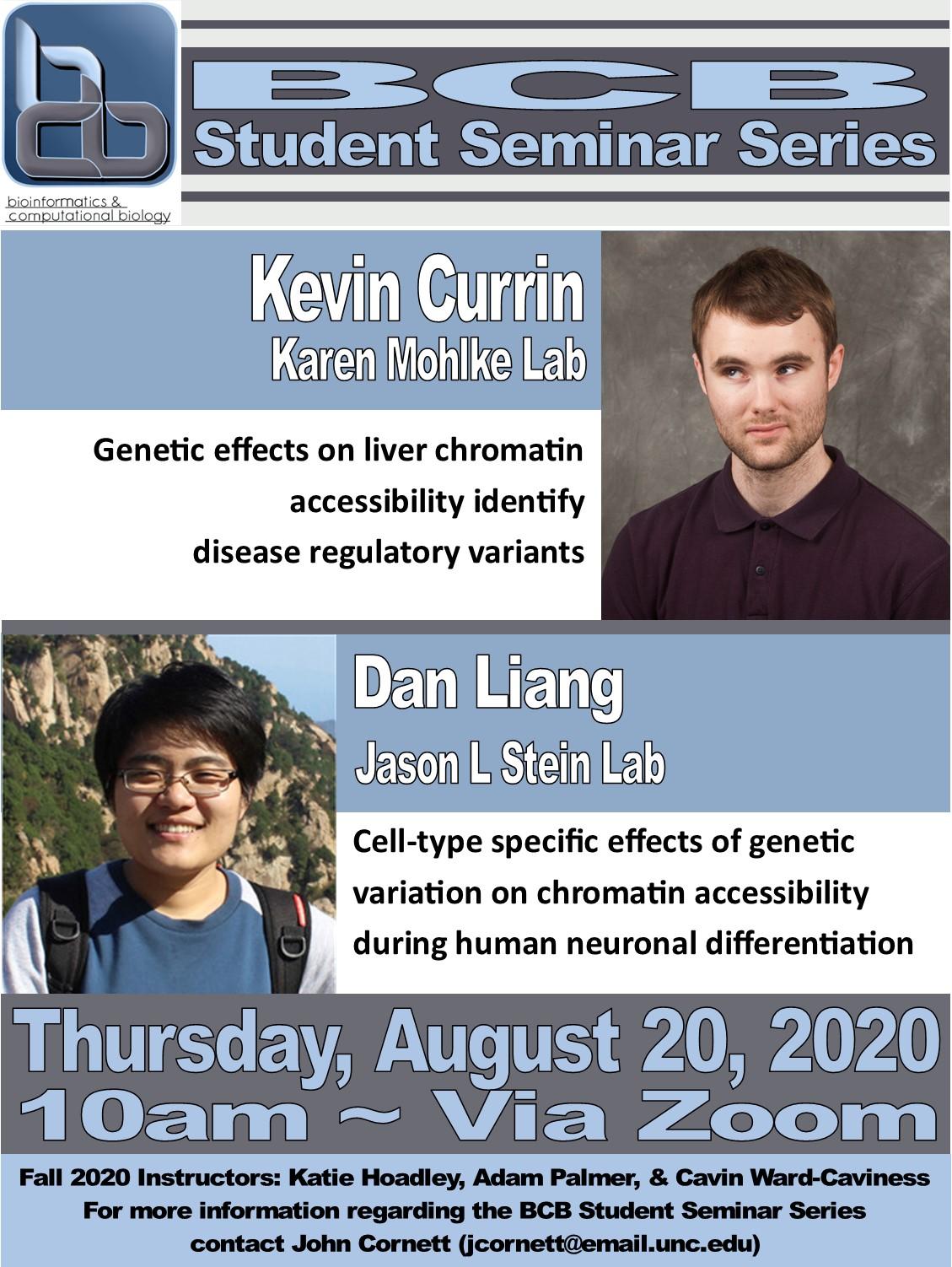 BCB Student Seminars_20 08 20 Currin and Liang