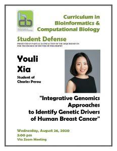 Youli Xia Defense Announcement 082620