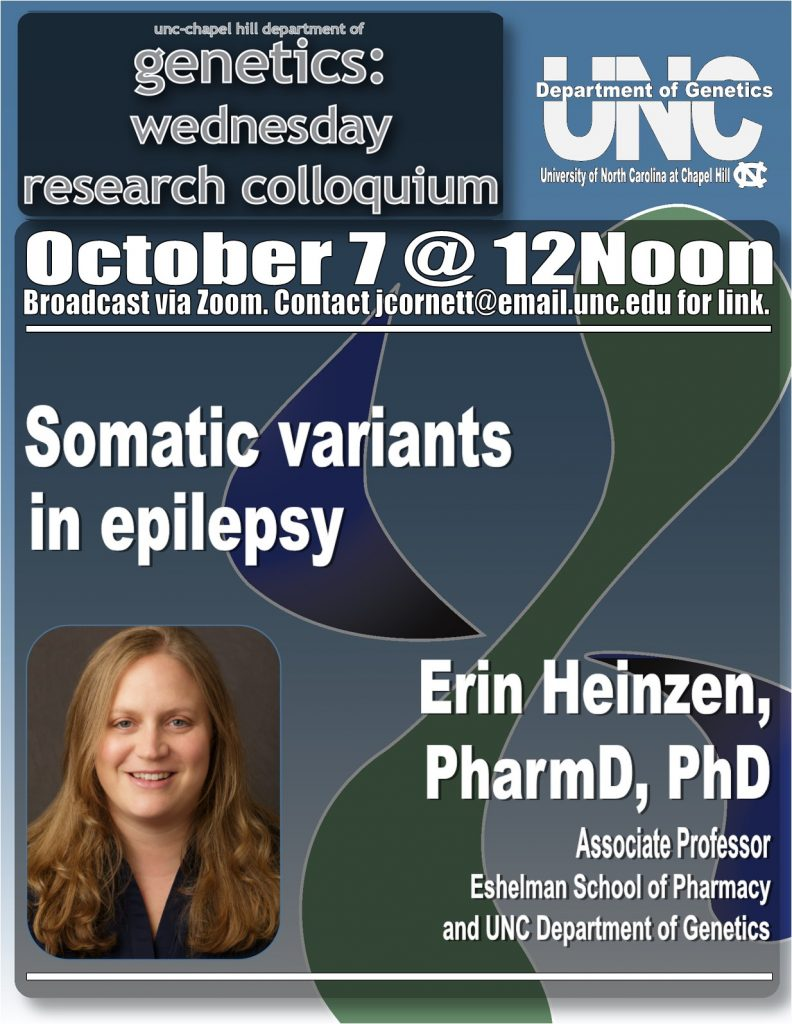 Genetics Colloquium_20 1007 Erin Heinzen