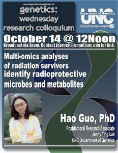 Genetics Colloquium_20 1014 Hao Guo