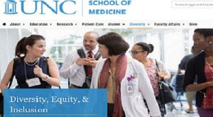UNC School of Medicine Diversity Equity and Inclusion